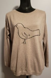 Ann Taylor Taupe/Beige Sweater size M